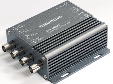 Analogue to HD-SDI converter