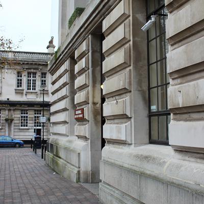 Guildhall external bullet