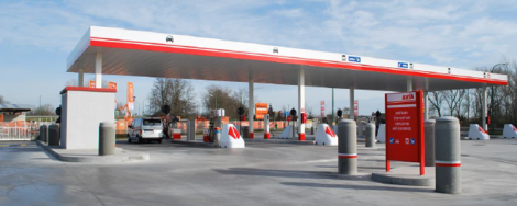 Avia fuel station Grundig
