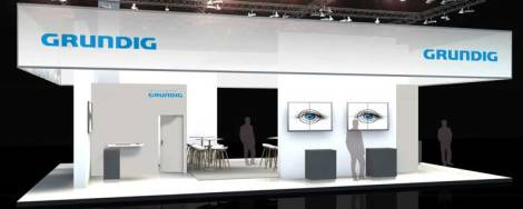 Grundig booth at Security Essen